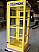 Outdoor Metal Superman Booth - Yellow
