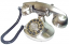 Alexis 1922 Decorator Phone - Silver