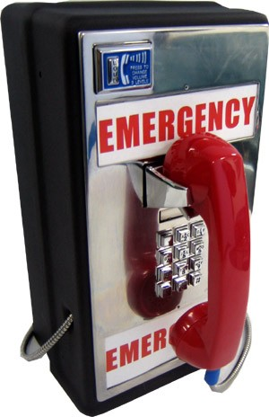 Emergency Bell Style Phone