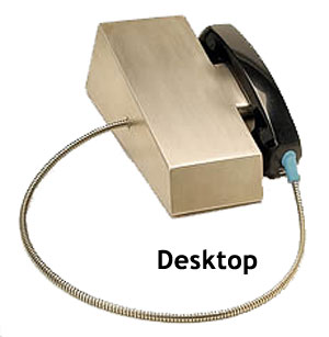 Desktop Magnetic Hookswitch Phone with No-Dial