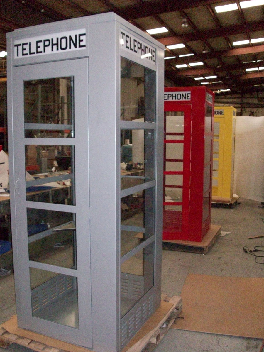 Metal Superman Telephone Booth Booths Amp Enclosures