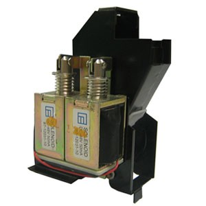 Elcotel 48V Dual-Solenoid Relay & Hopper Assembly