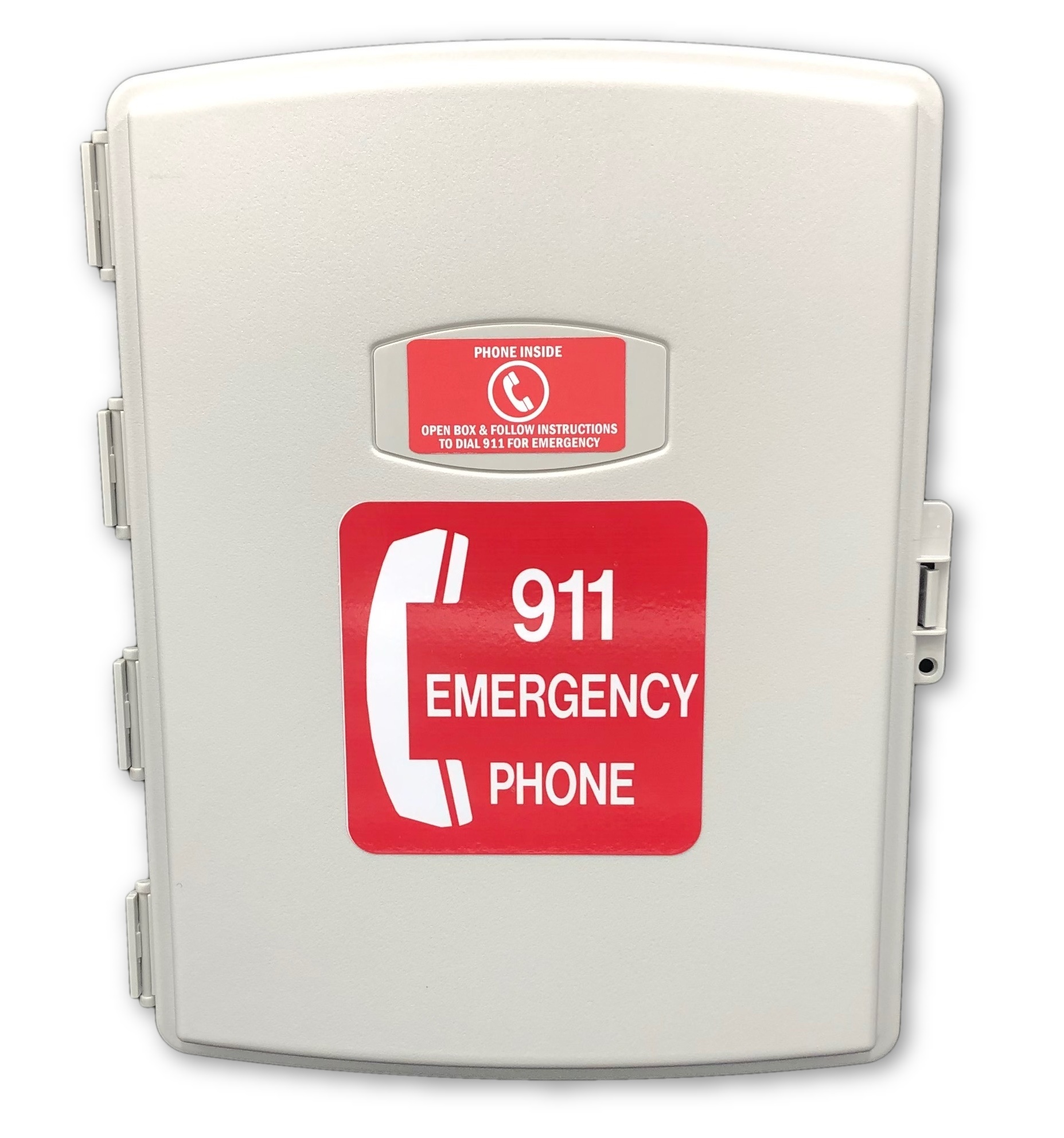 Wireless One Button 911 Emergency Phone 120VAC Power
