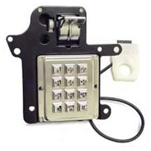 Armored Elcotel Keypad Assembly