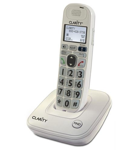 CLARITY-D704 40dB Amplified Cordless Telephone