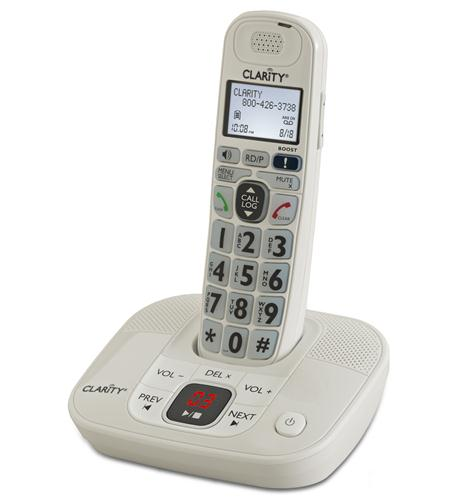 Clarity 40dB Amplified Cordless Phone