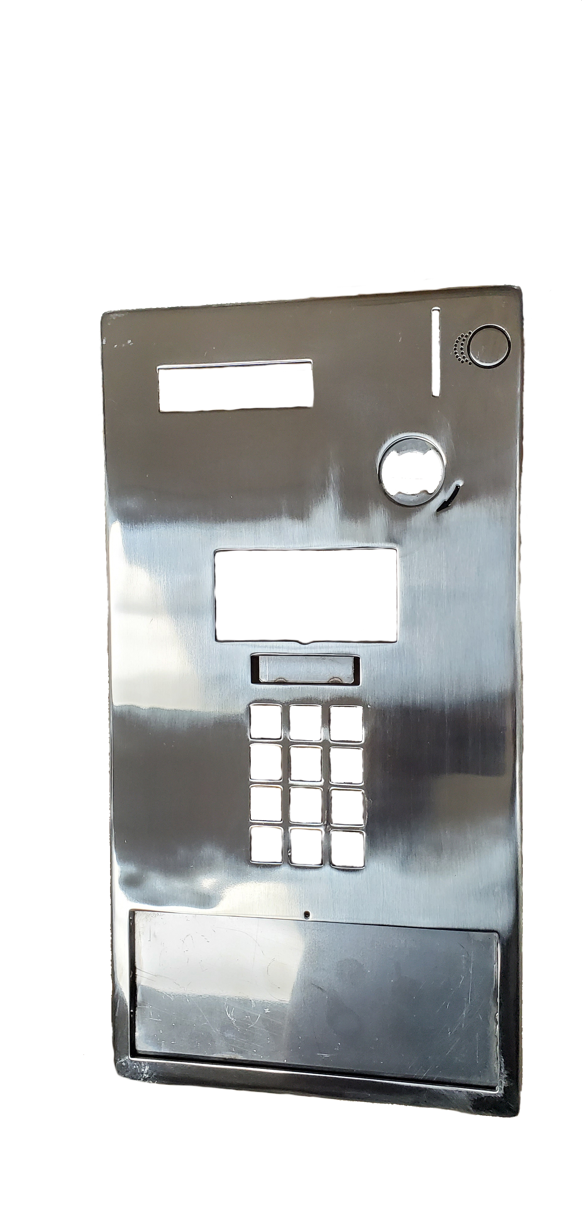 G-4000 Stainless Steel Faceplate