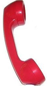 Handset Handle Red