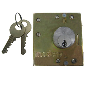 Medeco Lower Lock & Key Set,