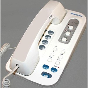 NWB Two Line Designer Corded Phone